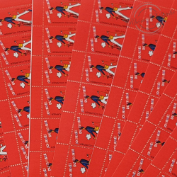 """LOT DE 12 CARNETS """"JOURNEE DU TIMBRE """" 1993 (BC2794), FACIALE 32€"""