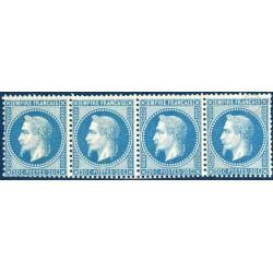 N°_29A TYPE NAPOLEON 20C BLEU TYPE I, TIMBRES NEUFS** 1867