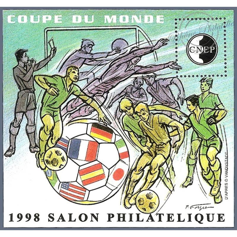 """BLOC CNEP N°_26 """"COUPE DU MONDE 1998"""" LUXE"""