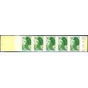 """CARNET MODERNE 2424-C 1 TYPE """"LIBERTE"""" DELACROIX OUVERT, 1986"""
