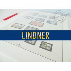 FEUILLES LINDNER T. 1985-1991 pour Collection de timbres (France)
