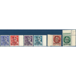 SERIE LIBÉRATION NICE TIMBRES NEUFS ** 1944