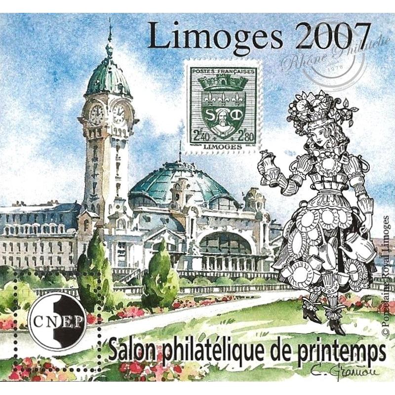 """BLOC CNEP N°_48 """"LIMOGES 2007"""""""