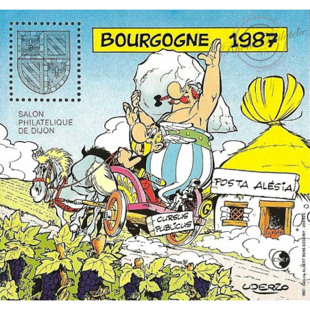 """BLOC CNEP N°8 """"BOURGOGNE 1987"""" LUXE"""