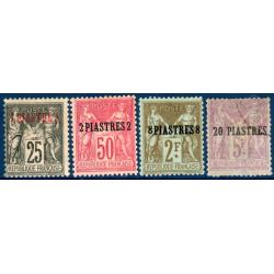 LEVANT N°4 A 8 SAUF N°6 TIMBRES POSTE COLONIES FRANÇAISES, 1886-1901