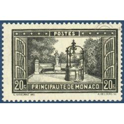 MONACO N°134 PAYSAGE DE LA PRINCIPAUTÉ, TIMBRE NEUF** 1933-1937
