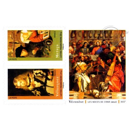 """CARNET """"CHEFS D'OEUVRE DE LA PEINTURE"""" BC150"""