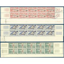 N°__960 à 965 JEUX OLYMPIQUES HELSINKI, FEUILLETS TIMBRES NEUFS ** 1953