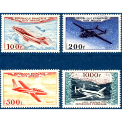 PA N°_30 A 33 PROTOTYPES, TIMBRES NEUFS** 1954