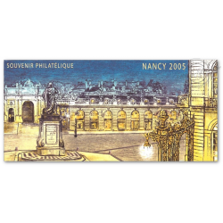 LOT DE 10 BLOCS SOUVENIRS N°_14 NANCY 2006, BLISTER OUVERT