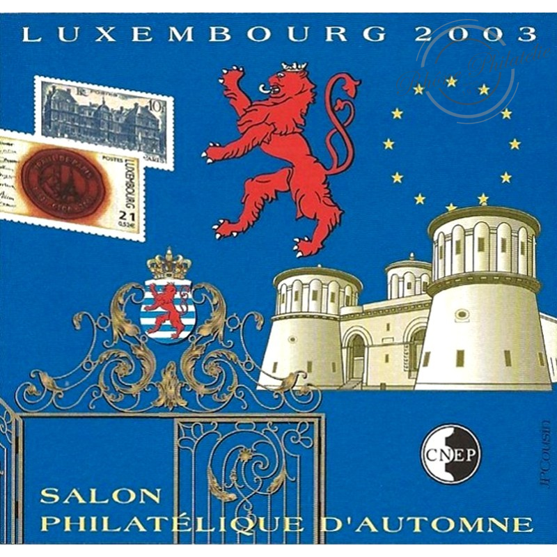 """BLOC CNEP N°_39a NON DENTELE """"LUXEMBOURG 2003"""" LUXE"""