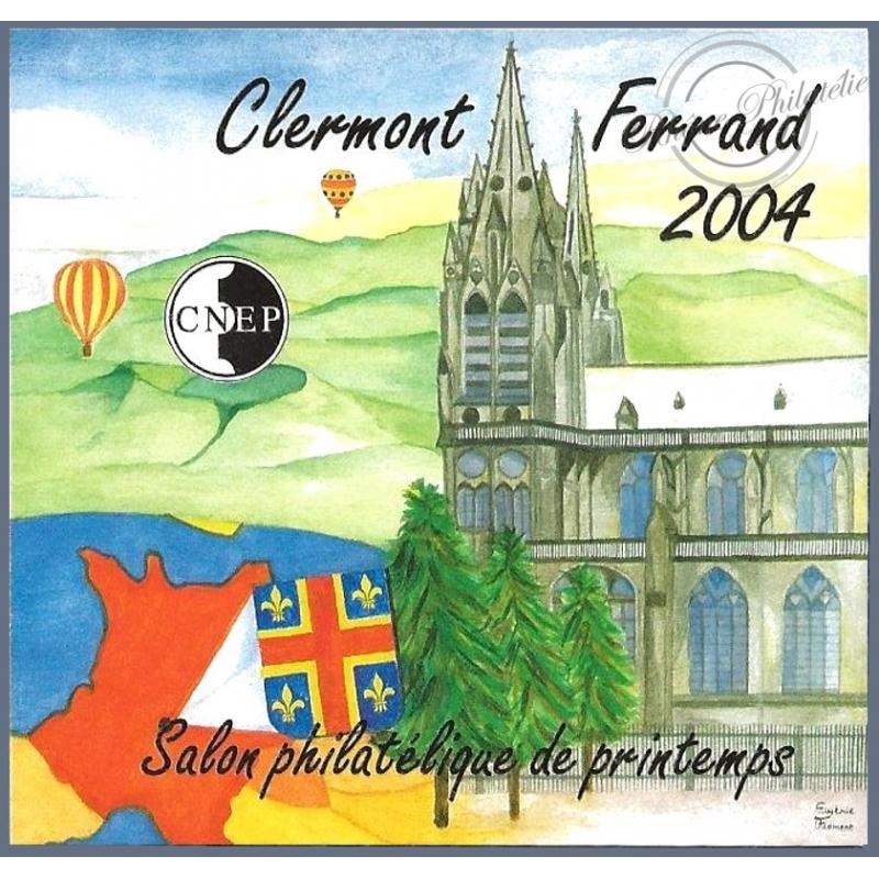 "BLOC CNEP N°_40a NON DENTELE ""CLERMONT FERRAND 2004"" LUXE"