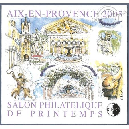 """BLOC CNEP N°_43a NON DENTELE """"AIX EN PROVENCE 2005"""""""