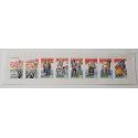"""LOT DE 21 CARNETS """"SANTONS DE PROVENCE"""" 1995 (BC2982), FACIALE 53€"""