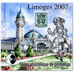 """BLOC CNEP N°_48a NON DENTELE """"LIMOGES 2007"""""""