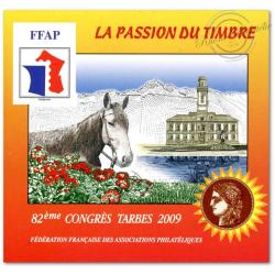 """FFAP N°3 """"CONGRES TARBES 2009"""" NON DENTELE"""