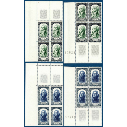 TIMBRES POSTE N°867-872 NEUFS** 1950 - SERIE HOCHE