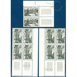 TIMBRES POSTE N°1192-1194 NEUFS** 1959