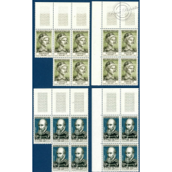TIMBRES POSTE N°1108-1113 NEUFS** 1957 - SERIE JULES GUESDE