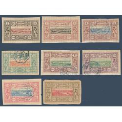COTE DES SOMALIS N°6 A 13 VUES DE DJIBOUTI, TIMBRES NEUFS*/OBLITÉRÉS 1894-1900