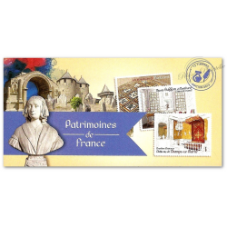 "CARNET ""PATRIMOINES DE FRANCE"" COLLECTOR BC865"