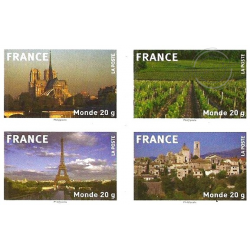 """CARNET MONDE ENTIER """"La France en timbres"""" BC329"""