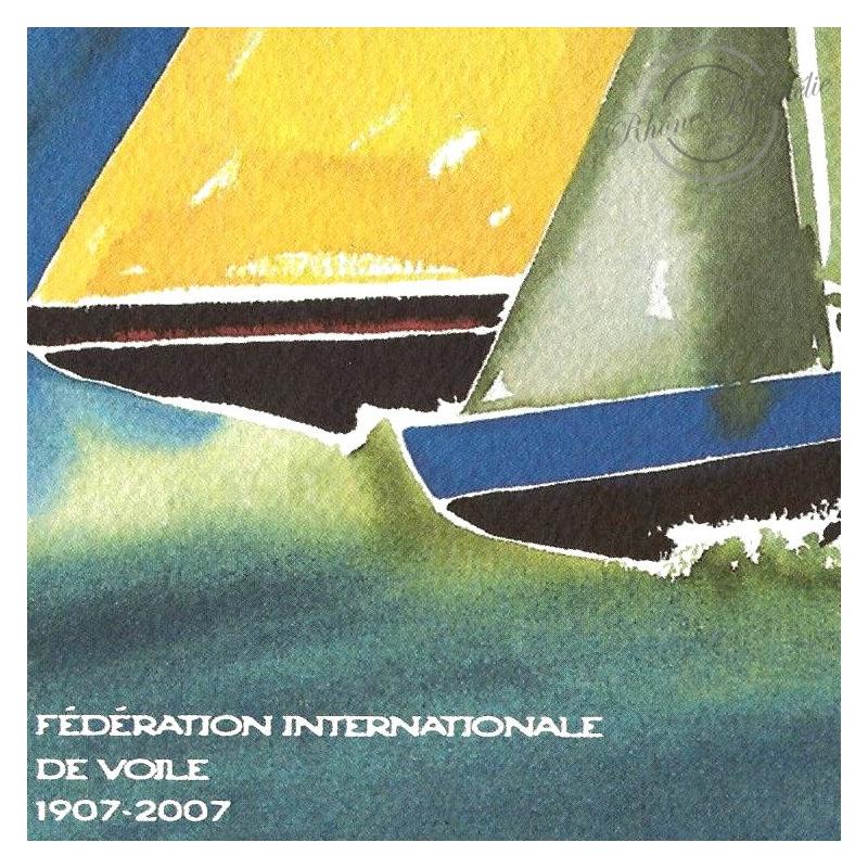BLOC SOUVENIR N°_23 VOILE FEDERATION 2007 - SOUS BLISTER