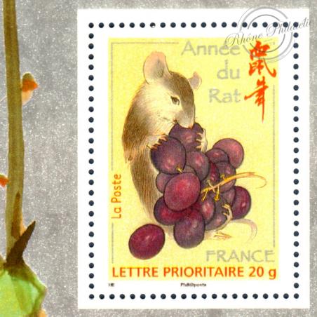 BLOC SOUVENIR N°_33 ANNEE DU RAT 2008