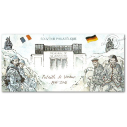 BLOC SOUVENIR BATAILLE DE VERDUN 1916-2016