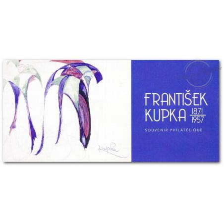 BLOC SOUVENIR N°144 FRANTISEK KUPKA, PEINTRE TCHÈQUE ANNEE 2018