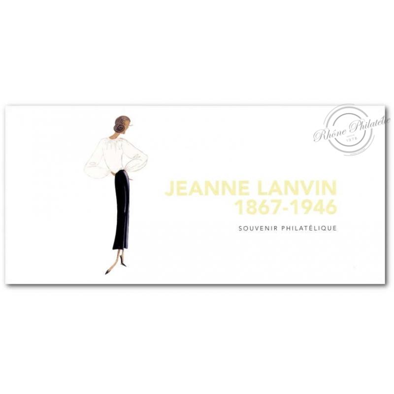 BLOC SOUVENIR JEANNE LANVIN 1867-1946