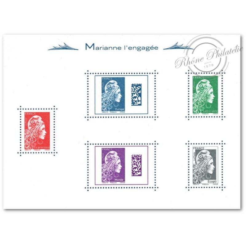 BLOC MARIANNE L'ENGAGÉE 2018 LUXE