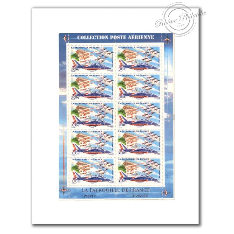 PA N°_71 LA PATROUILLE 2008 LUXE feuille 10 timbres sous blister