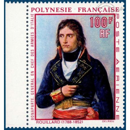 POLYNESIE POSTE AERIENNE N°_31 PORTRAIT NAPOLEON 1ER TIMBRE NEUF** DE 1969