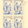 CARNET CROIX-ROUGE N°2006 TIMBRES NEUFS** 1957
