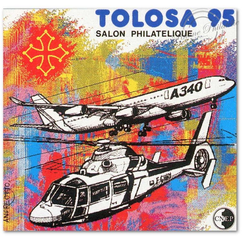 "BLOC NON DENTELE CNEP N°_20a ""TOLOSA 95"""