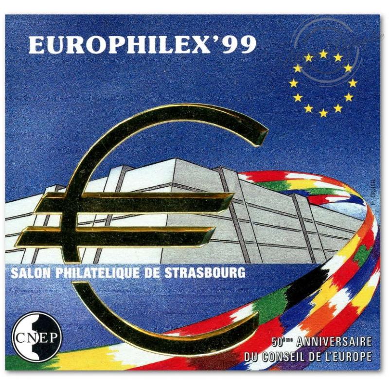 "BLOC CNEP NON DENTELE N°_29a ""EUROPHILEX'99"""