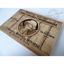 CARNET ANCIEN N°256 C1 TYPE SOURIRE DE REIMS (complet) NEUF**