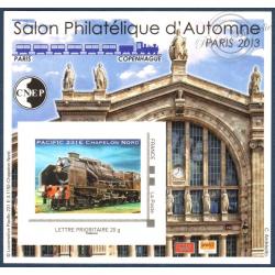 """BLOC CNEP N°_64 """"PARIS 2013. SALON D'AUTOMNE"""" LUXE, AUTOADHESIF"""