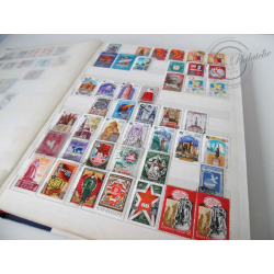TIMBRES BLOCS URSS, LOT DE COLLECTION - ALBUM A BANDES