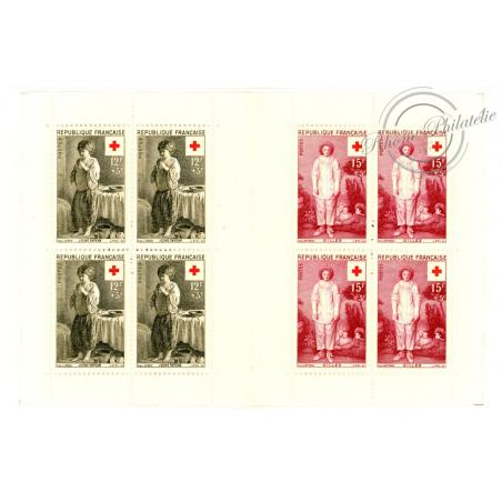 CARNET CROIX-ROUGE N°2005 NEUF** ANNEE 1956