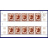 TAAF PA N°_22 STATION FEUILLE DE 10 TIMBRES