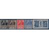 N°__270 A 274 EXPOSITION COLONIALE DE PARIS, TIMBRES NEUFS**, 1930