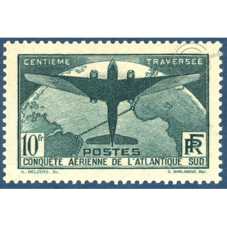 N°__321 ATLANTIQUE SUD TIMBRE NEUF ** ANNEE 1936