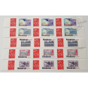 TIMBRE PERSONNALISE N°3802A, 5 BANDES MARIANNE LAMOUCHE TIMBRES MAGASINE GUYANE