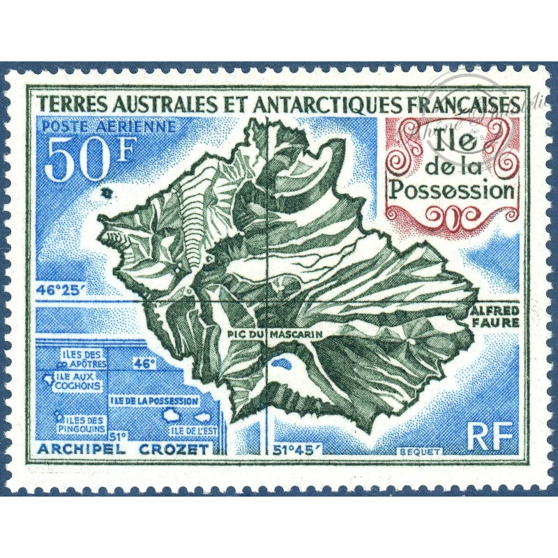 TAAF PA N° 23 ILE DE LA POSSESSION TIMBRE NEUF SANS CHARNIERE 1971