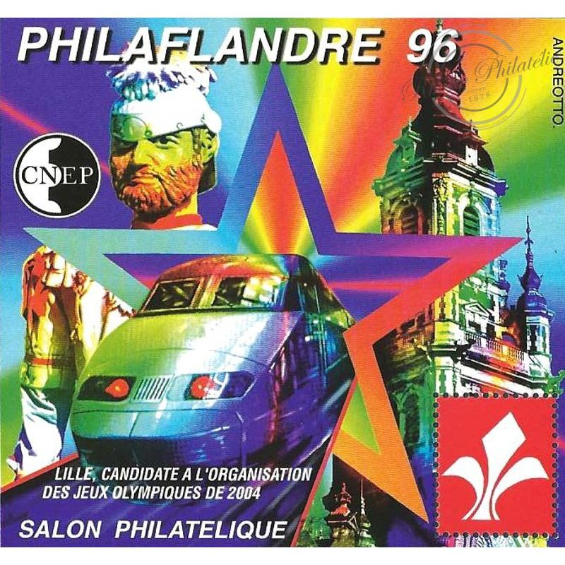 "BLOC CNEP N°_22 ""PHILAFLANDRE 96"" LUXE"