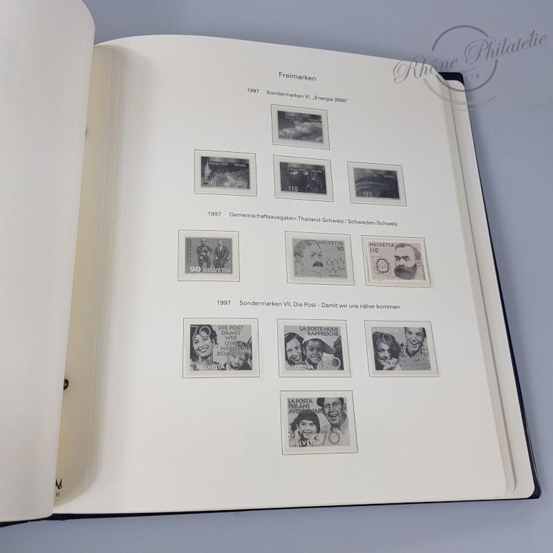 ALBUM MULLER 1980-2000 pour timbres de SUISSE