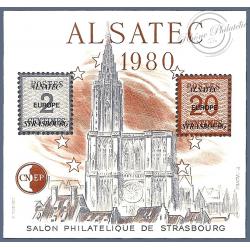 LOT DE 10 BLOCS CNEP N°1 ALSATEC 1980