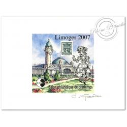 """EPREUVE LUXE CNEP N°_48 """"LIMOGES 2007"""""""